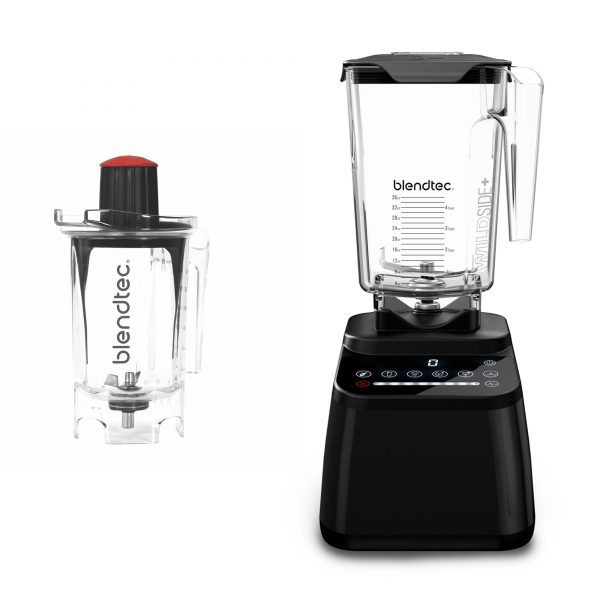 Blendtec D650 black with twister jar